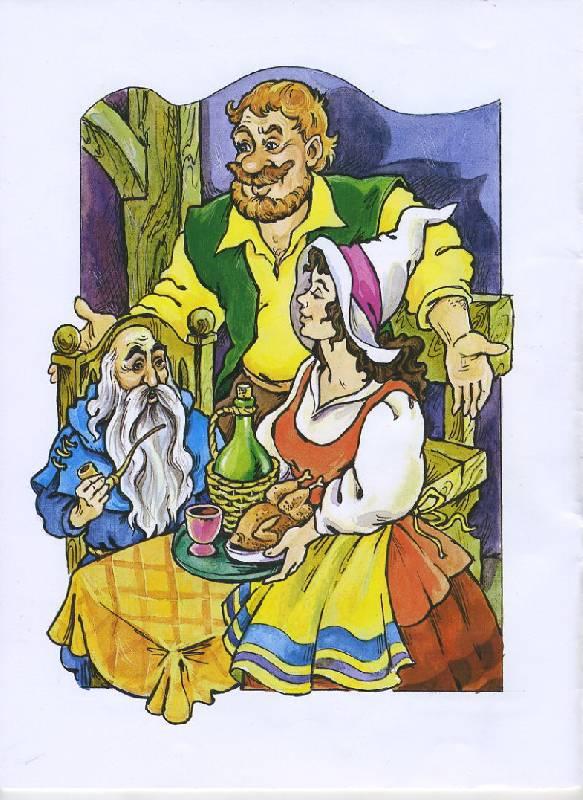 Иллюстрация 1 из 11 для Волшебные сказки: Мальчик с пальчик - Марк Тарловский   Лабиринт - книги. Источник: The Cat