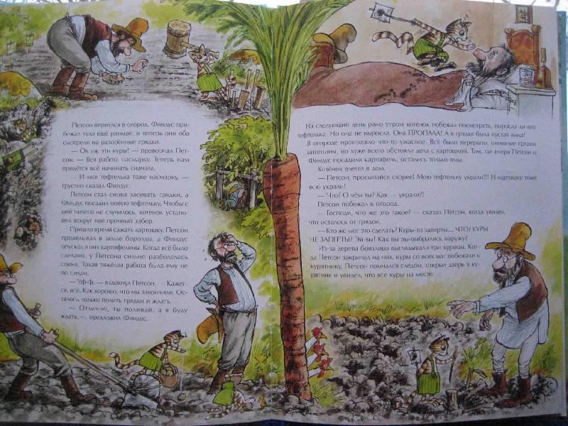 Иллюстрация 1 из 25 для Переполох в огороде - Свен Нурдквист | Лабиринт - книги. Источник: Трухина Ирина