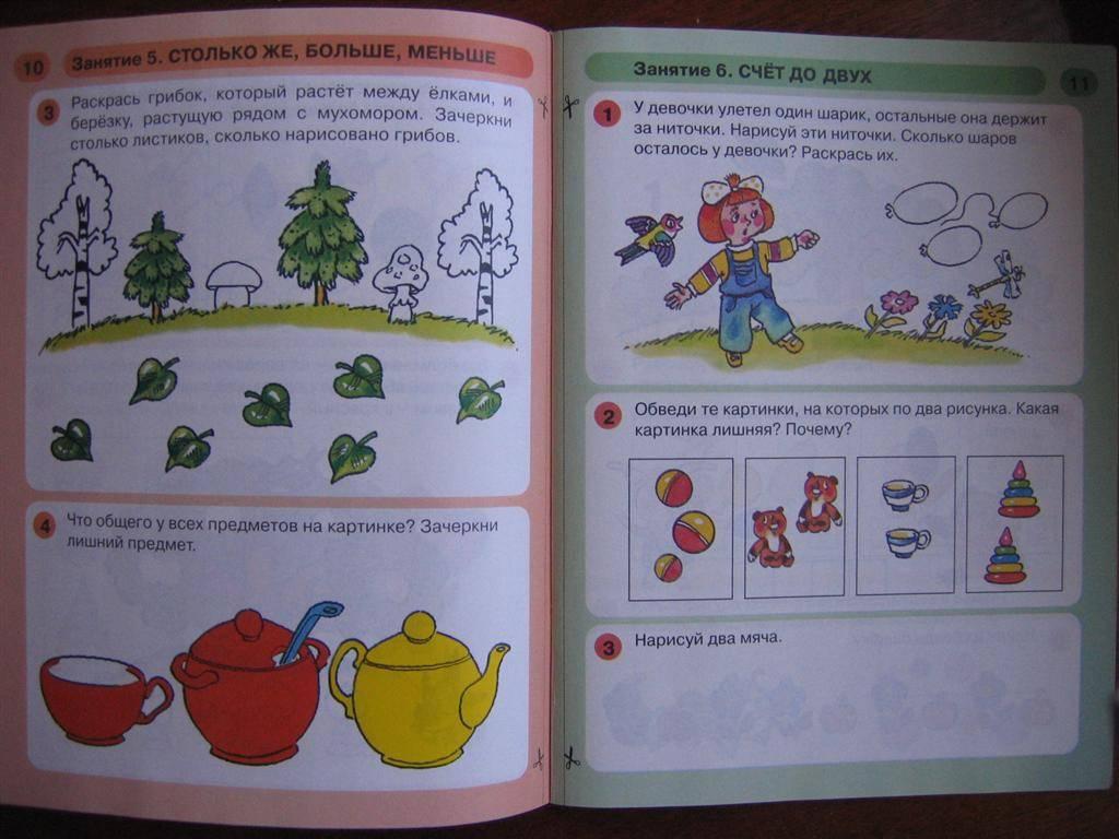В ней представлен материал, позволяющий закрепить и расширить знания в индивидуальной работе детей с родителями или воспитателями после занятий.