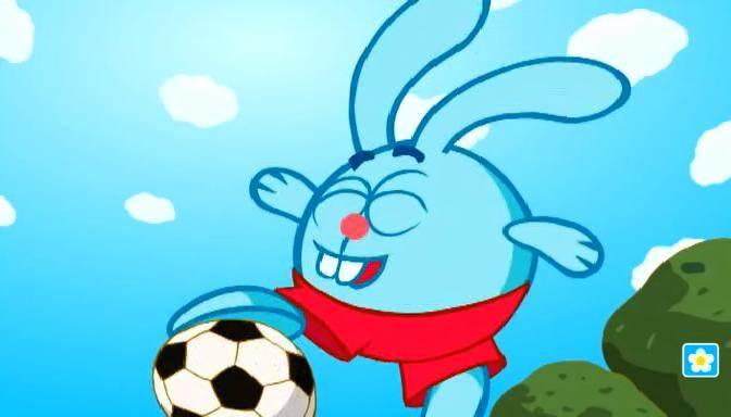 Иллюстрация 1 из 37 для Смешарики: Футбол. Выпуск 6 (CDmpeg4) | Лабиринт - видео. Источник: Guttt