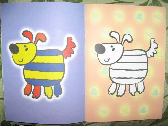 Иллюстрация 1 из 9 для Правильная раскраска: Усатый-полосатый (2-4 года) | Лабиринт - книги. Источник: libe