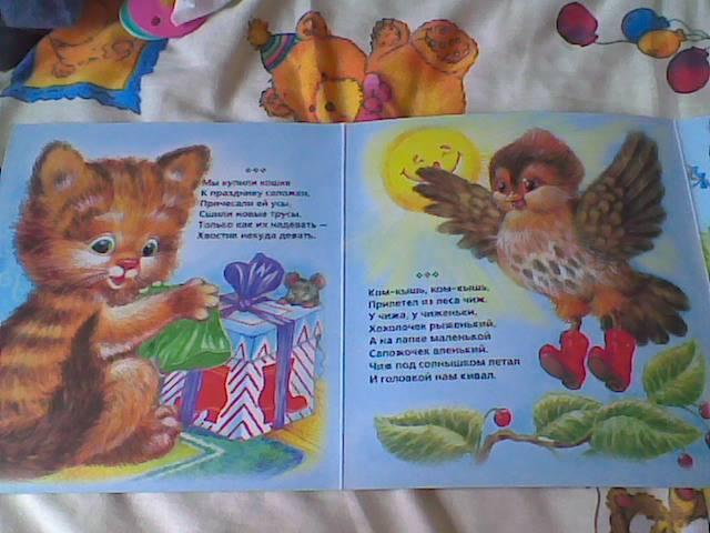 Иллюстрация 1 из 2 для Купили кошке к празднику сапожки/Книжка-раскладушка | Лабиринт - книги. Источник: angelan