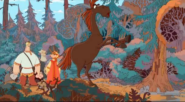 Иллюстрация 1 из 4 для Алеша Попович и Тугарин змей - Константин Бронзит | Лабиринт - видео. Источник: мама малыша