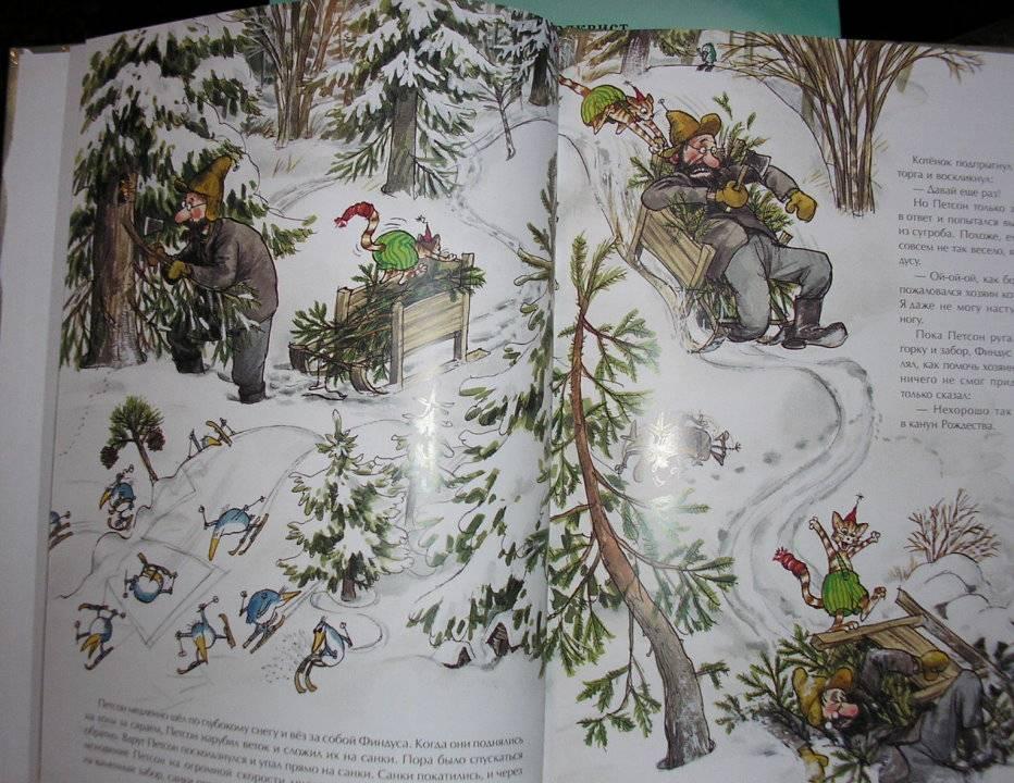 Иллюстрация 1 из 2 для Рождество в домике Петсона - Свен Нурдквист | Лабиринт - книги. Источник: Спанч Боб