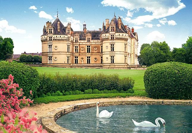 Иллюстрация 1 из 8 для Puzzle-1000. Ле Люд, Франция (С-100262) | Лабиринт - игрушки. Источник: Ганина  Екатерина Викторовна