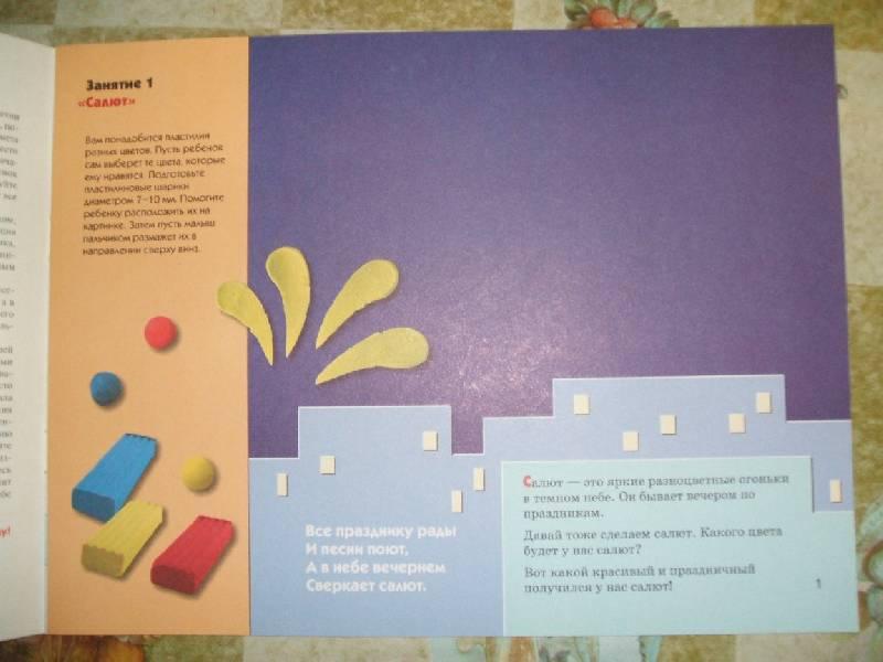 Иллюстрация 1 из 15 для Пластилиновые картинки. Художественный альбом для занятий с детьми 1-3 лет. - Елена Янушко | Лабиринт - книги. Источник: ashatan