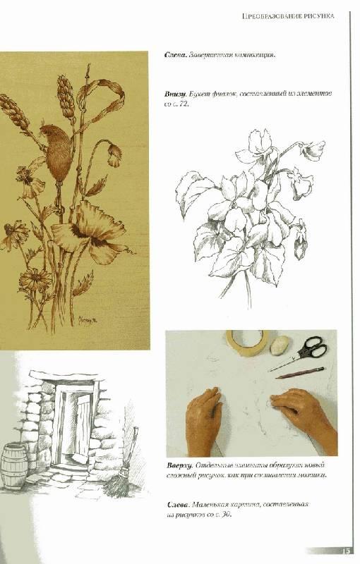 Иллюстрация 1 из 21 для Выжигание по дереву. Практическое руководство - Норма Грегори   Лабиринт - книги. Источник: Panterra