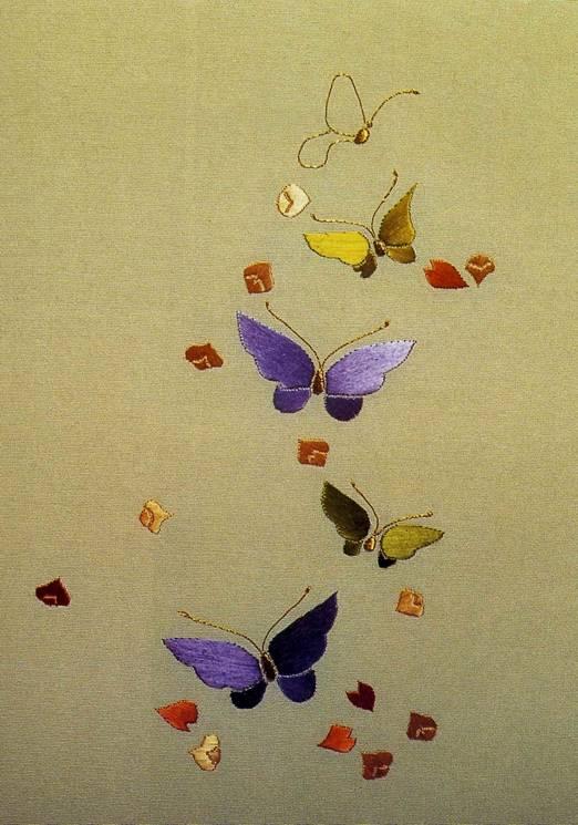 Иллюстрация 1 из 2 для Традиционная японская вышивка: Краткое руководство для начинающих - Джулия Грей   Лабиринт - книги. Источник: Panterra