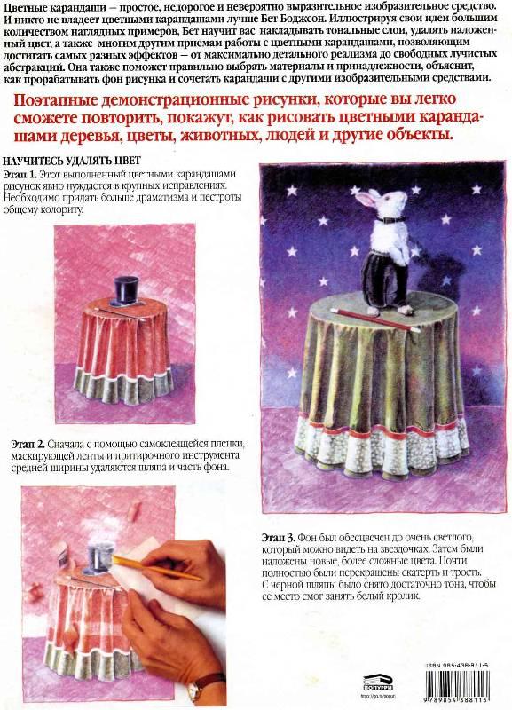 Иллюстрация 1 из 27 для Основы техники рисования цветным карандашом - Бет Боджсон | Лабиринт - книги. Источник: Panterra