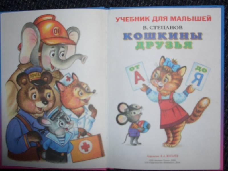 Иллюстрация 1 из 21 для Кошкины друзья от А до Я - Владимир Степанов   Лабиринт - книги. Источник: sher