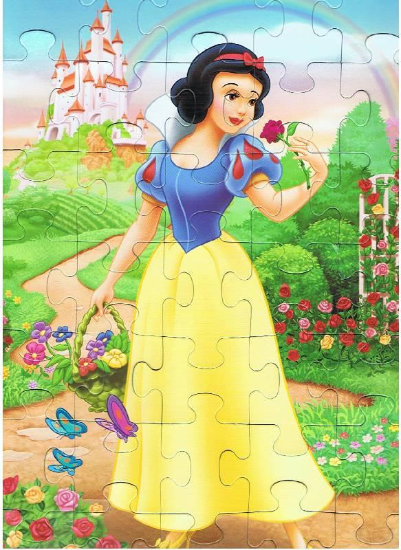 Иллюстрация 1 из 8 для Step Puzzle-35 91105 Белоснежка | Лабиринт - игрушки. Источник: Большая Берта