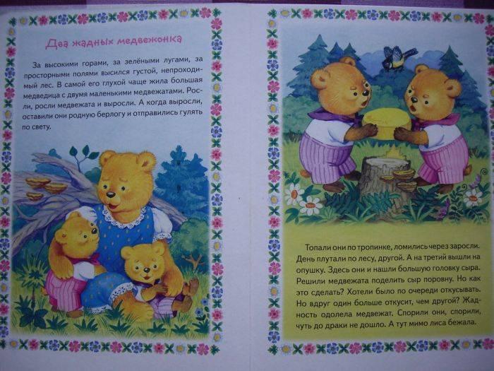 Иллюстрация 1 из 4 для Два жадных медвежонка | Лабиринт - книги. Источник: enotniydrug