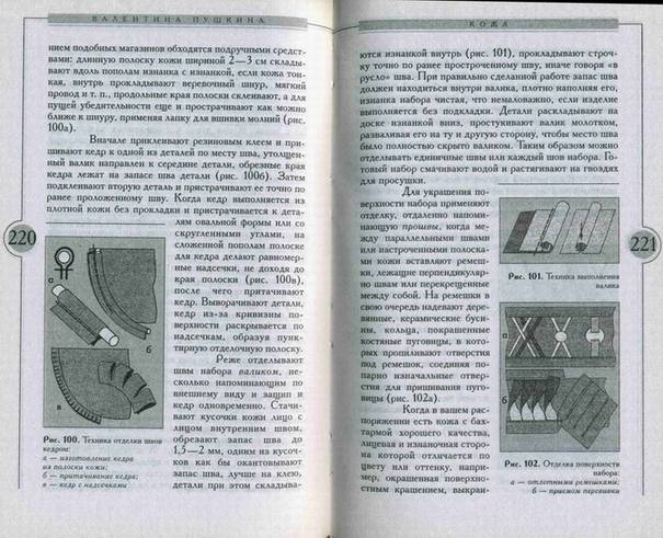 Иллюстрация 1 из 4 для Стильные изделия из кожи - В.З. Пушкина | Лабиринт - книги. Источник: Panterra