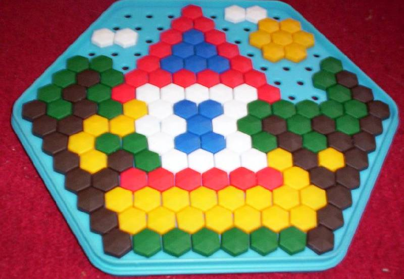 Иллюстрация 1 из 2 для Мозаика 170 элементов (00958) | Лабиринт - игрушки. Источник: Ёжик