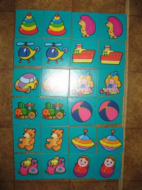Иллюстрация 1 из 2 для Парные картинки: Игрушки (5593) | Лабиринт - игрушки. Источник: libe