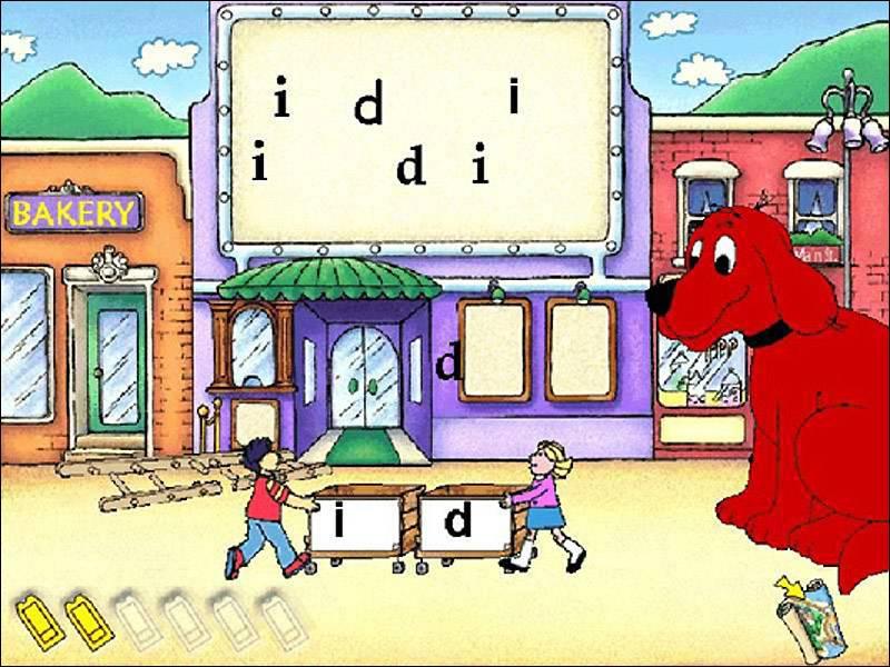 Иллюстрация 1 из 9 для Клиффорд учится читать по-английски (CDpc) | Лабиринт - софт. Источник: Юлия7