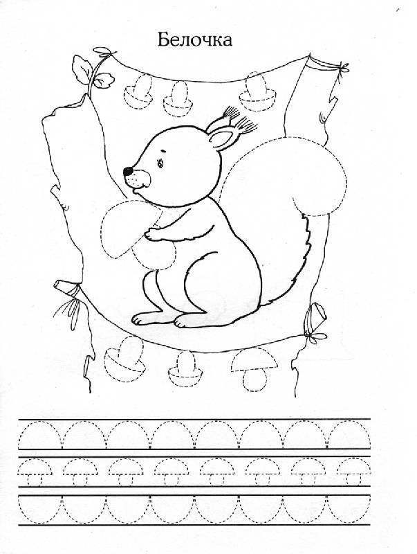 Иллюстрация 1 из 2 для Прописи: Лесные зверюшки - И. Попова | Лабиринт - книги. Источник: OOlga