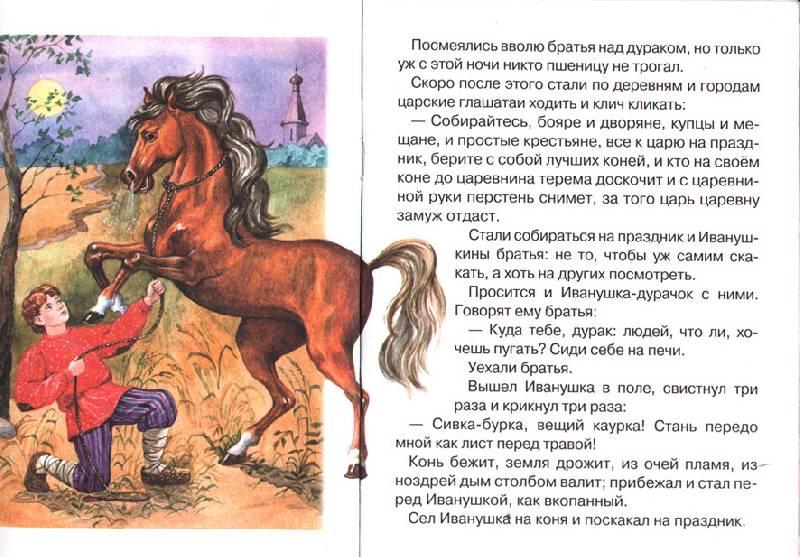 Иллюстрация 1 из 2 для Сивка-бурка | Лабиринт - книги. Источник: OOlga