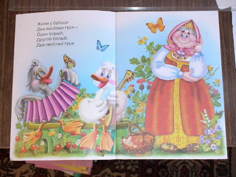 Иллюстрация 1 из 2 для Два веселых гуся | Лабиринт - книги. Источник: Лаванда