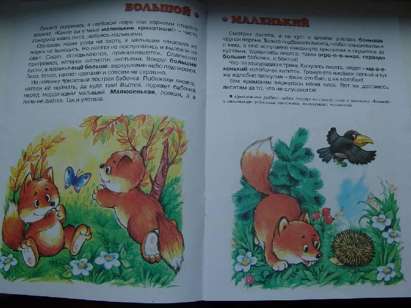 Иллюстрация 1 из 3 для Большой - маленький (Развитие речи 2-4 года) - Светлана Теплюк | Лабиринт - книги. Источник: Лаванда