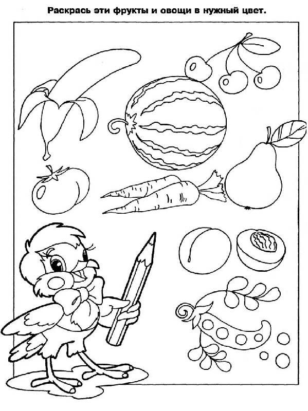 Иллюстрация 1 из 5 для Развиваем восприятие: Развивающая книжка-раскраска | Лабиринт - книги. Источник: Лана
