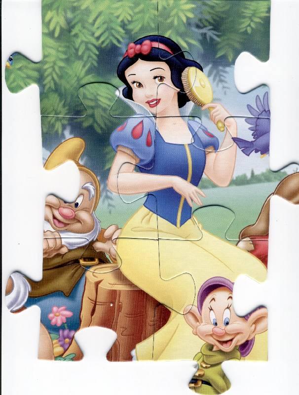 Иллюстрация 1 из 4 для Step PuzzLe-24 MAXI 90002 Белоснежка | Лабиринт - игрушки. Источник: *  Татьяна *