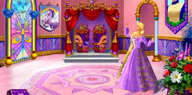 Иллюстрация 1 из 12 для Barbie: Принцесса Рапунцель (CDpc) | Лабиринт - софт. Источник: Юлия7