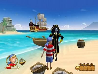 Иллюстрация 1 из 5 для Капитан Саблезуб | Лабиринт - книги. Источник: Юлия7