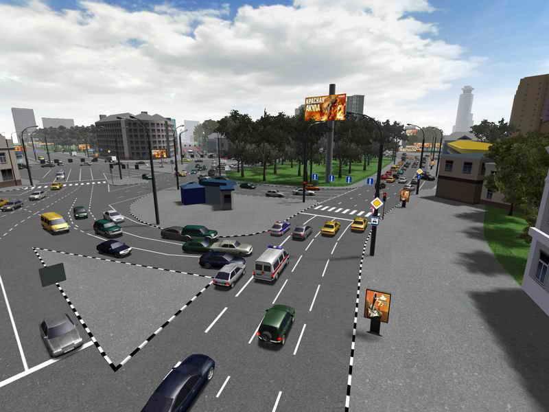 Иллюстрация 1 из 9 для Самоучитель вождения по городу. ПДД 2008. Подготовка и сдача экзамена (CDpc) | Лабиринт - софт. Источник: Юлия7