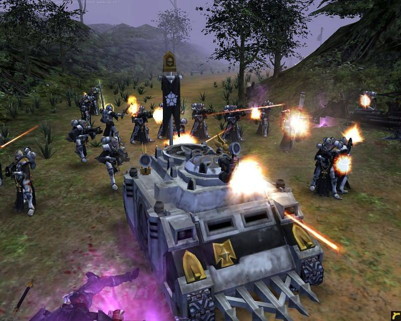 Иллюстрация 1 из 15 для Warhammer 40000: Dawn of War - Soulstorm (DVDpc) | Лабиринт - софт. Источник: Юлия7