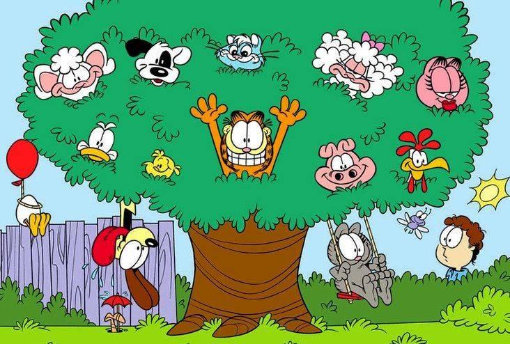 Иллюстрация 1 из 4 для Гарфилд малышам. Развиваем речь: Для детей 3 - 5 лет (CDpc)   Лабиринт - софт. Источник: Юлия7