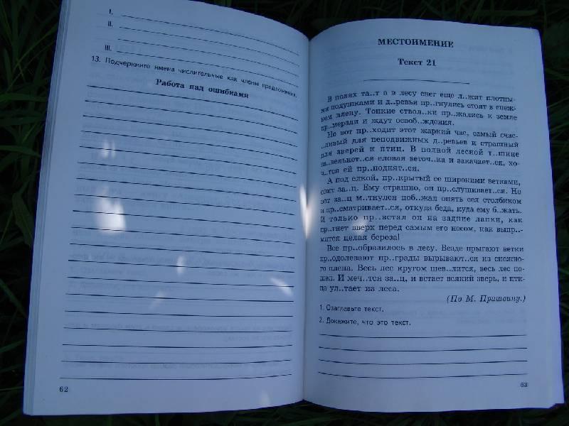 Комплексный анализ текста 6 класса домашняя работа текст