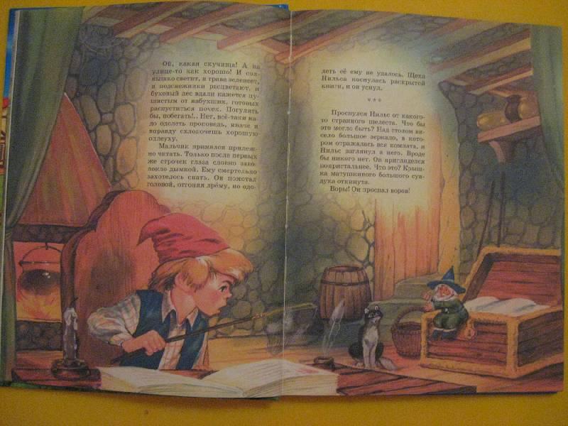 Иллюстрация 1 из 6 для Путешествие Нильса с дикими гусями - Лагерлеф Сельма Оттилия Лувиса | Лабиринт - книги. Источник: Букмарь