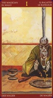 Иллюстрация 1 из 9 для Таро Афро-Бразильское (руководство+карты)   Лабиринт - книги. Источник: -=  Елена =-
