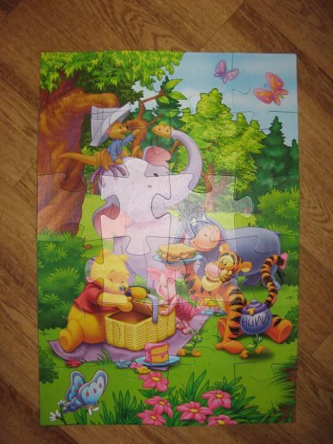 Иллюстрация 1 из 8 для Step PuzzLe-24 MAXI 90004 Винни Пух | Лабиринт - игрушки. Источник: libe