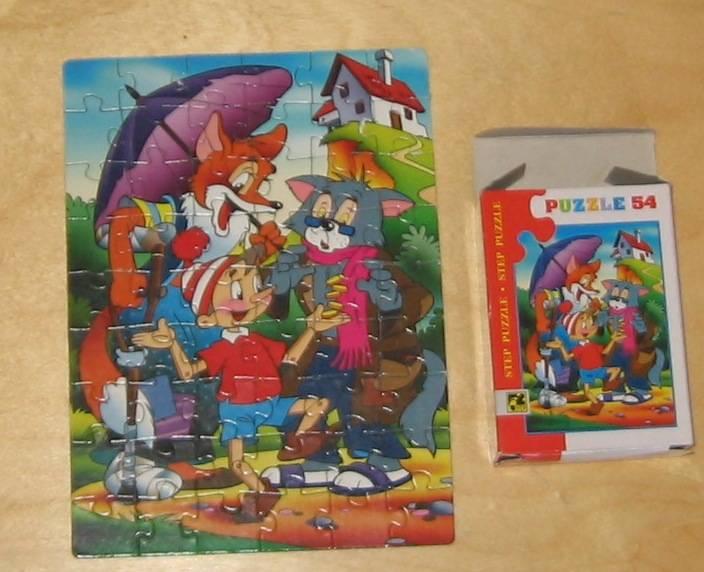 """Иллюстрация 1 из 2 для Step Puzzle-54 Любимые сказки """"Буратино"""" (71014)   Лабиринт - игрушки. Источник: акка"""