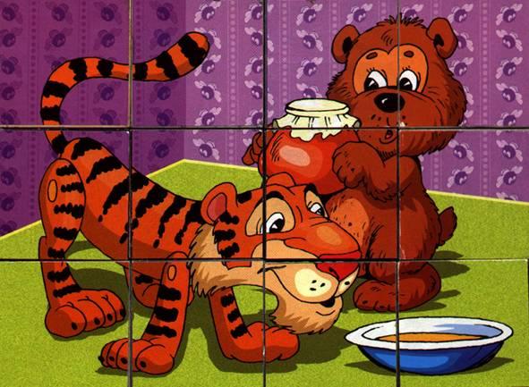 Иллюстрация 1 из 10 для Андрюшины кубики: Винни-Пух (05194, 00531) | Лабиринт - игрушки. Источник: OOlga