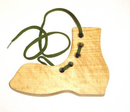 Иллюстрация 1 из 8 для Башмак-шнуровка (малый) | Лабиринт - игрушки. Источник: OOlga