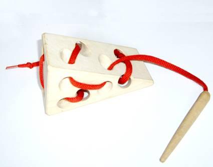 Иллюстрация 1 из 2 для Сыр-шнуровка | Лабиринт - игрушки. Источник: OOlga