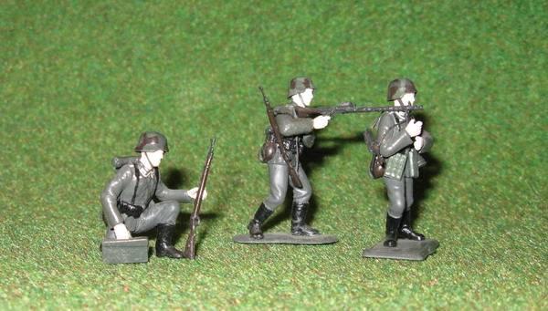 Иллюстрация 1 из 2 для Немецкие пулеметчики (3511) | Лабиринт - игрушки. Источник: Антоха