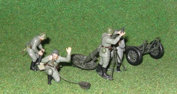 Иллюстрация 1 из 2 для Советский 120-мм миномет с расчетом (3503)   Лабиринт - игрушки. Источник: Антоха
