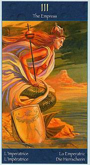 Иллюстрация 1 из 3 для Таро Волшебный мир Сирен (руководство + карты) | Лабиринт - книги. Источник: diave