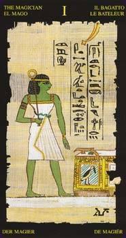 Иллюстрация 1 из 9 для Египетское Таро   Лабиринт - книги. Источник: diave