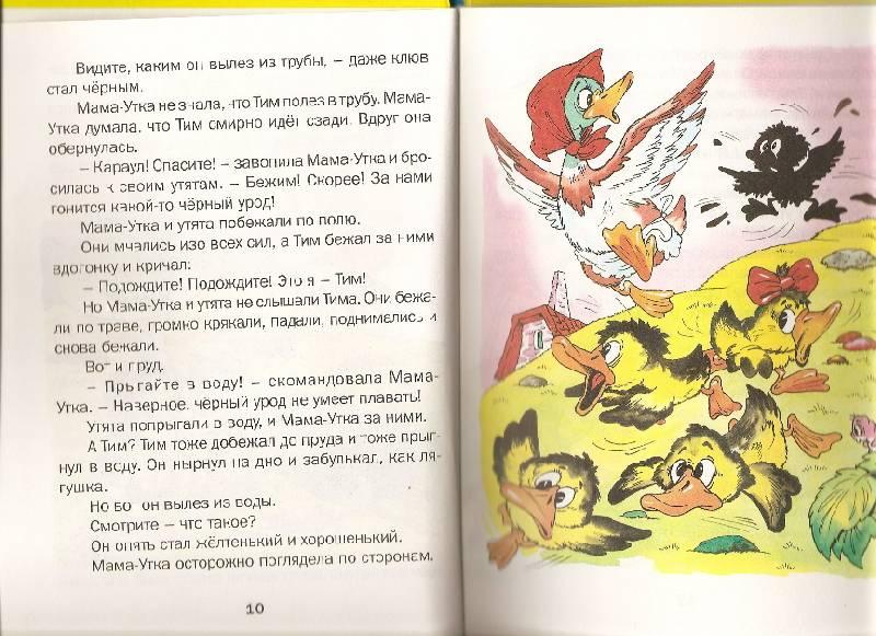 Иллюстрация 1 из 3 для Знаменитый утенок Тим: Сказка - Энид Блайтон | Лабиринт - книги. Источник: Марта