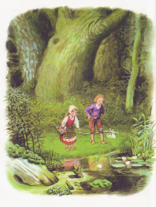 an analysis of the characters in the hansel and gretel a fairy tale by wilhelm grimm