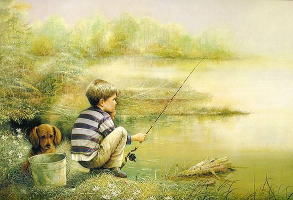 Иллюстрация 1 из 4 для Step Puzzle-360 Рыбалка | Лабиринт - игрушки. Источник: акка