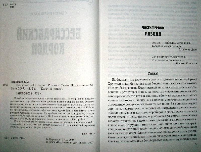 Иллюстрация 1 из 3 для Бессарабский кордон: Роман - Семен Паршиков | Лабиринт - книги. Источник: Мефи