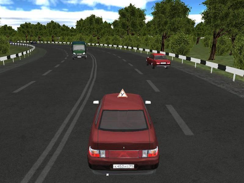 Иллюстрация 1 из 4 для 3D-инструктор. Учебный автосимулятор + ПДД с изменениями от 1 июля 2008 года (CDpc) | Лабиринт - софт. Источник: Юлия7