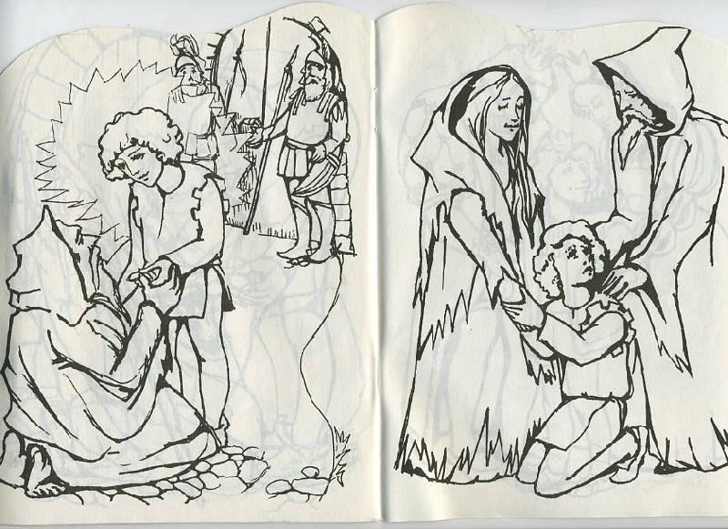 рисунки карандашом сказки: