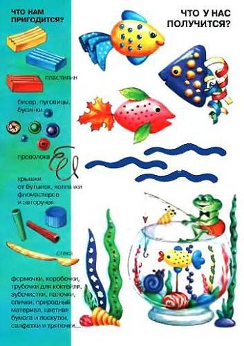 Иллюстрация 1 из 5 для Лепись, рыбка. Азбука самоделок - Ирина Лыкова | Лабиринт - книги. Источник: Galia